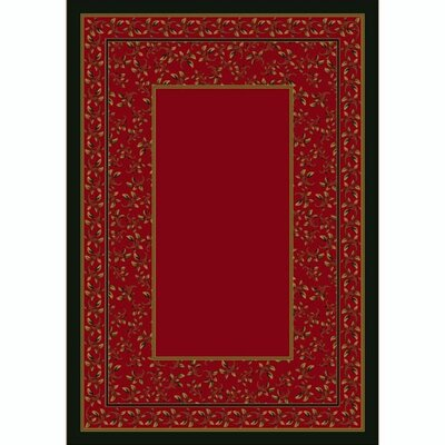 Design Center Brick Leander Area Rug Rug Size: Rectangle 78 x 109