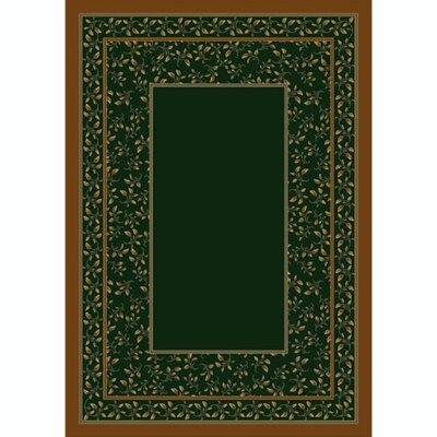 Design Center Emerald Leander Area Rug Rug Size: Runner 24 x 118