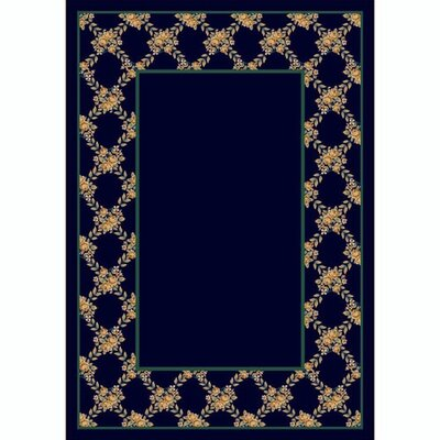 Design Center Sapphire Rose Bower Area Rug Rug Size: Rectangle 109 x 132