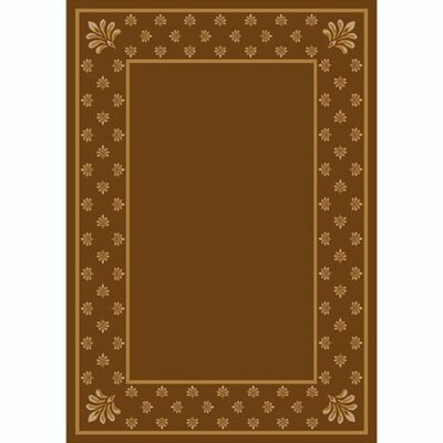 Design Center Nutmeg Adonis Area Rug Rug Size: 109 x 132