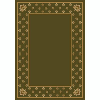 Design Center Khaki Adonis Area Rug Rug Size: 109 x 132