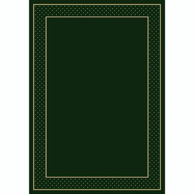 Design Center Emerald Legacy Area Rug Rug Size: Runner 24 x 232