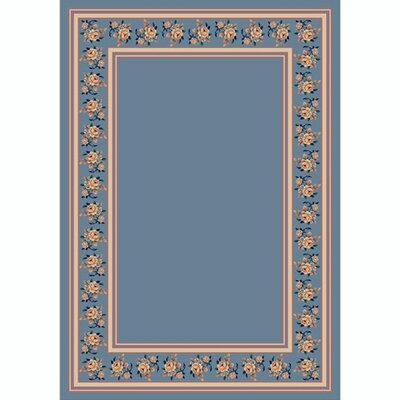 Design Center Lapis Rosalie Area Rug Rug Size: Round 77