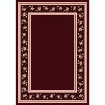 Design Center Garnet Rosalie Area Rug Rug Size: 54 x 78