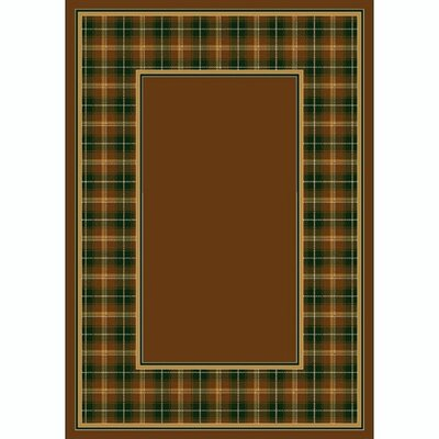 Design Center Dark Amber McIntyre Area Rug Rug Size: 54 x 78