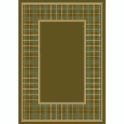 Design Center Tobacco McIntyre Area Rug Rug Size: 3'10