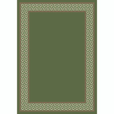 Design Center Peridot Foulard Area Rug Rug Size: Round 77