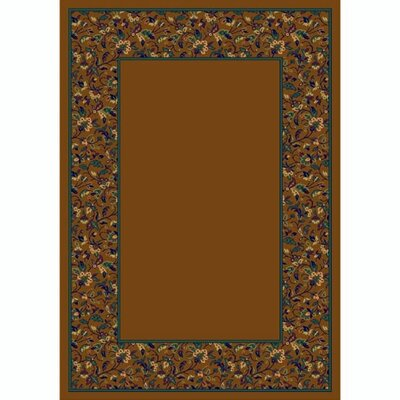 Design Center Dark Amber Marrakesh Area Rug Rug Size: 109 x 132