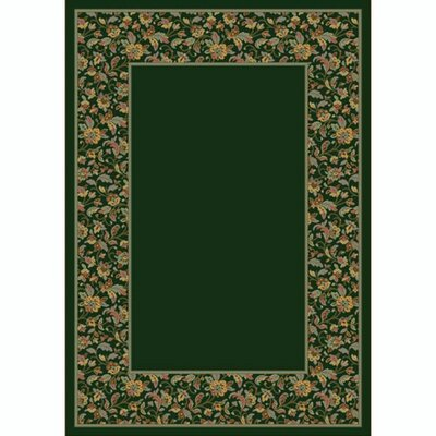 Design Center Emerald Marrakesh Area Rug Rug Size: Round 77