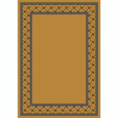 Design Center Golden Topaz Garden Estate Area Rug Rug Size: Rectangle 54 x 78