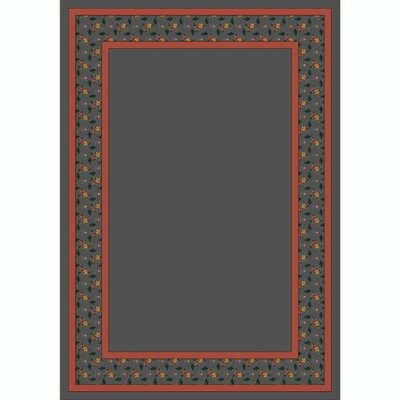 Design Center Lapis Garden Estate Area Rug Rug Size: Rectangle 78 x 109