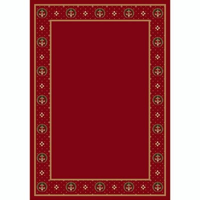 Design Center Brick Madison Area Rug Rug Size: 78 x 109