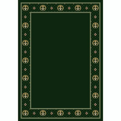 Design Center Emerald Madison Area Rug Rug Size: Rectangle 109 x 132