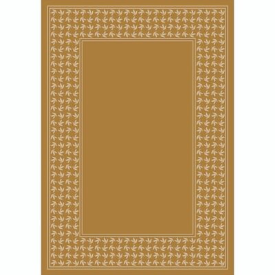 Design Center Maize Windswept Area Rug Rug Size: 3'10