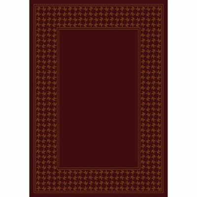 Design Center Garnet Windswept Area Rug Rug Size: Rectangle 78 x 109