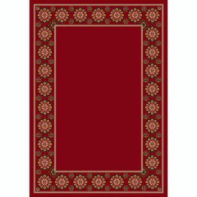 Design Center Brick Kabul Area Rug Rug Size: Rectangle 78 x 109