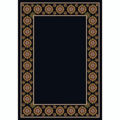 Design Center Onyx Kabul Area Rug Rug Size: Rectangle 109 x 132