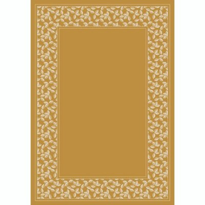 Design Center Light Topaz Ivy League Area Rug Rug Size: 109 x 132