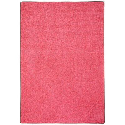Modern Times Harmony Dark Pink Area Rug Rug Size: Rectangle 21 x 78