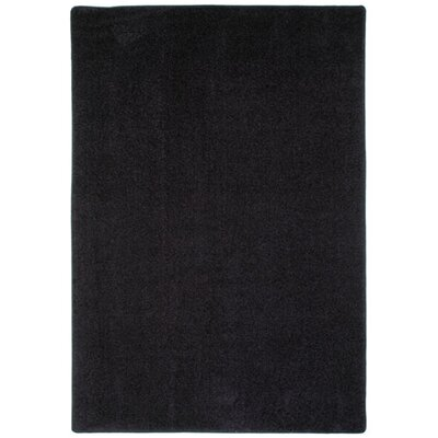 Modern Times Harmony Ebony Area Rug Rug Size: Rectangle 78 x 109