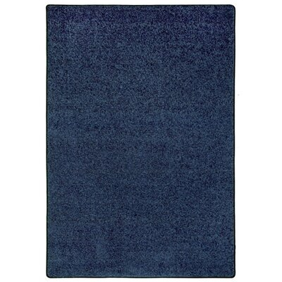 Modern Times Harmony Indigo Area Rug Rug Size: Rectangle 109 x 132