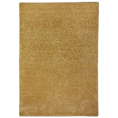 Modern Times Harmony Wheat Area Rug Rug Size: Rectangle 78 x 109