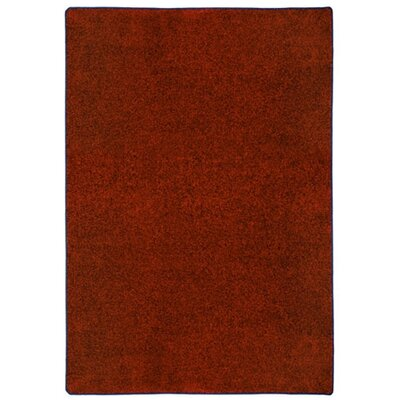 Modern Times Harmony Tapestry Red Area Rug Rug Size: Rectangle 109 x 132