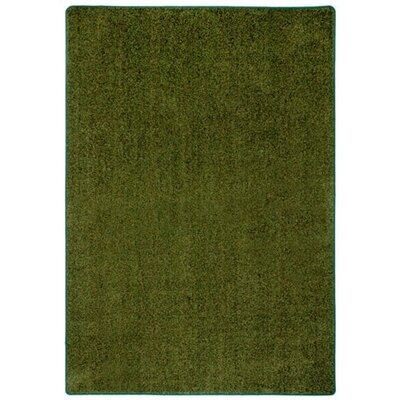 Modern Times Harmony Deep Olive Area Rug Rug Size: Rectangle 21 x 78
