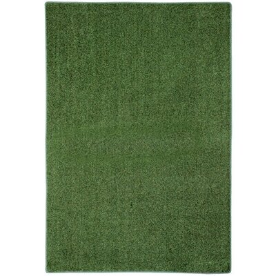 Modern Times Harmony Sea Spray Area Rug Rug Size: 109 x 132