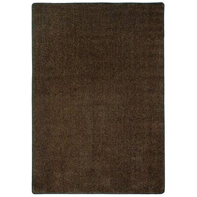 Modern Times Harmony Brown Area Rug Rug Size: Rectangle 54 x 78