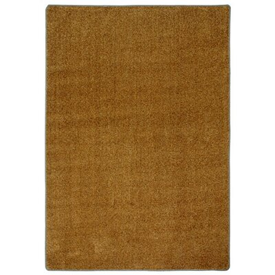 Modern Times Harmony Bronze Area Rug Rug Size: Rectangle 78 x 109