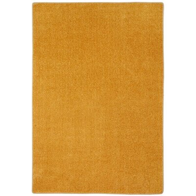 Modern Times Harmony Butterscotch Area Rug Rug Size: Rectangle 109 x 132