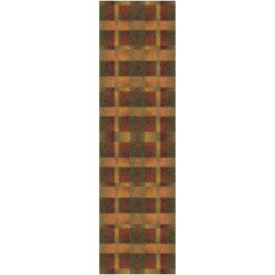 Modern Times Aura Fall Orange Area Rug Rug Size: Rectangle 21 x 78