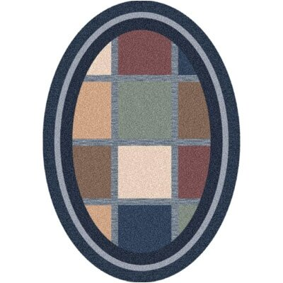 Pastiche Ababa Royal Rug Rug Size: Oval 54 x 78