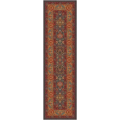 Pastiche Ababan Tin Roof Contemporary Runner Rug Size: 21 x 78