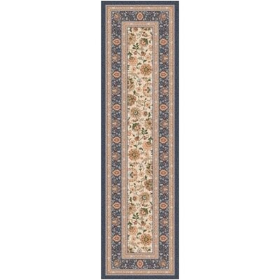 Pastiche Aydin Metal Grey Runner Rug Size: 21 x 78