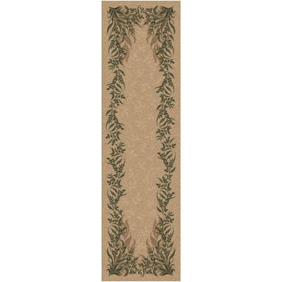 Pastiche Baskerville Barley Contemporary Runner Rug Size: 2'1