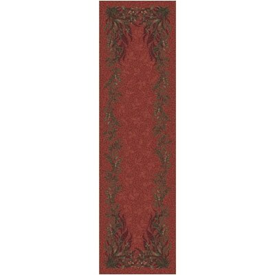 Pastiche Baskerville Titian Contemporary Runner Rug Size: 2'1