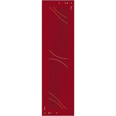 Pastiche Caliente Rouge Runner Rug Size: 21 x 78