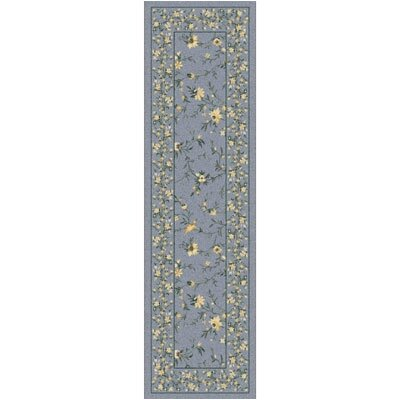 Pastiche Hampshire Floral Storm Runner Rug Size: 21 x 78