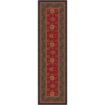 Pastiche Karshi Red Cinnamon Runner Rug Size: 21 x 78