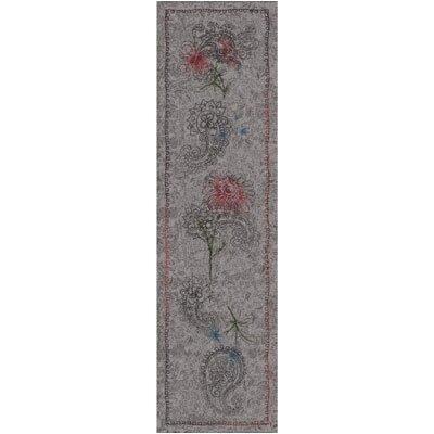 Pastiche Vintage Wispy Runner Rug Size: 21 x 78