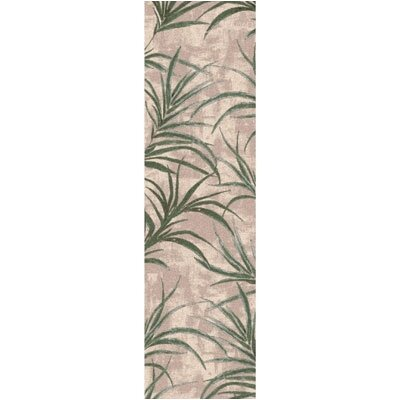 Pastiche Rain Forest Alabaster Area Rug Rug Size: Rectangle 21 x 78