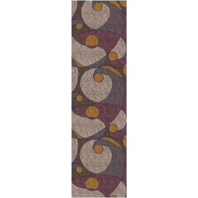 Pastiche Remous Brown Contemporary Runner Rug Size: 21 x 78