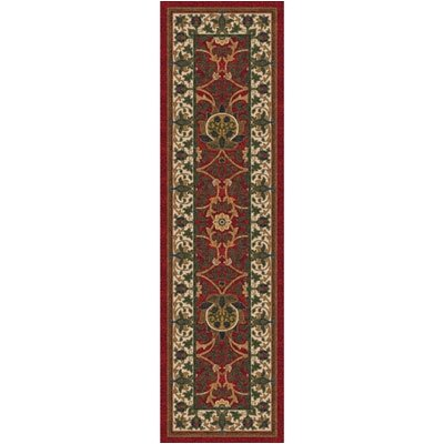 Pastiche Sumero Indian Red Runner Rug Size: 21 x 78