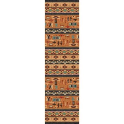 Pastiche Wide Ruins Smog Runner Rug Size: 21 x 78