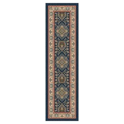 Pastiche Halkara Candle Blue Runner Rug Size: 21 x 78