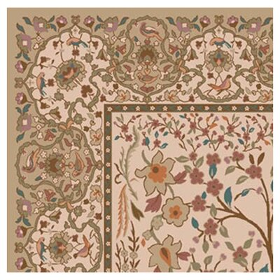 Pastiche Kashmiran Balsa Wheat Area Rug Rug Size: Octagon 77