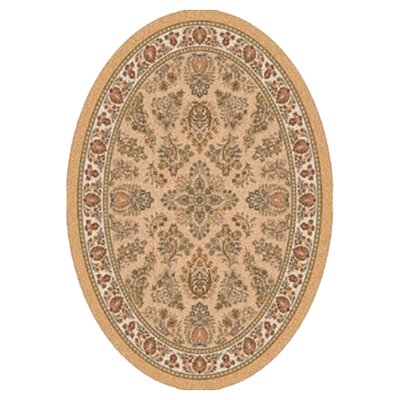 Pastiche Halkara Autumn Forest Oval Rug Rug Size: Oval 78 x 109