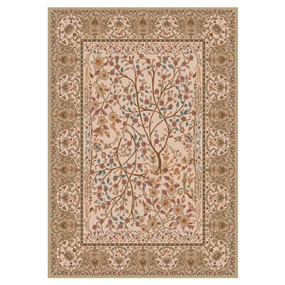 Pastiche Kashmiran Balsa Wheat Area Rug Rug Size: Rectangle 109 x 132